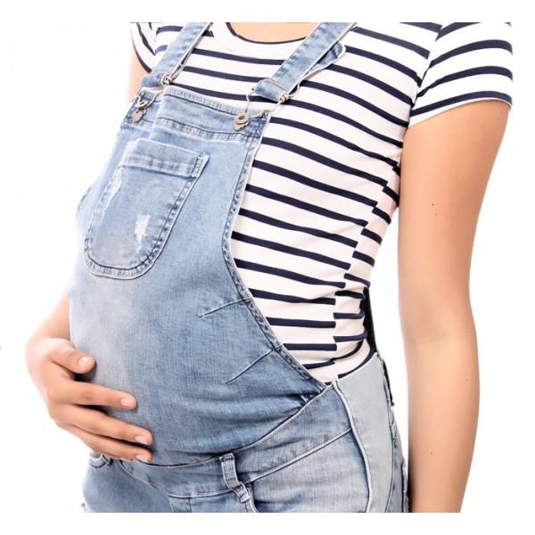 f9c01f5d8 Overol Corto de embarazada Coleta – Athina Mathernity