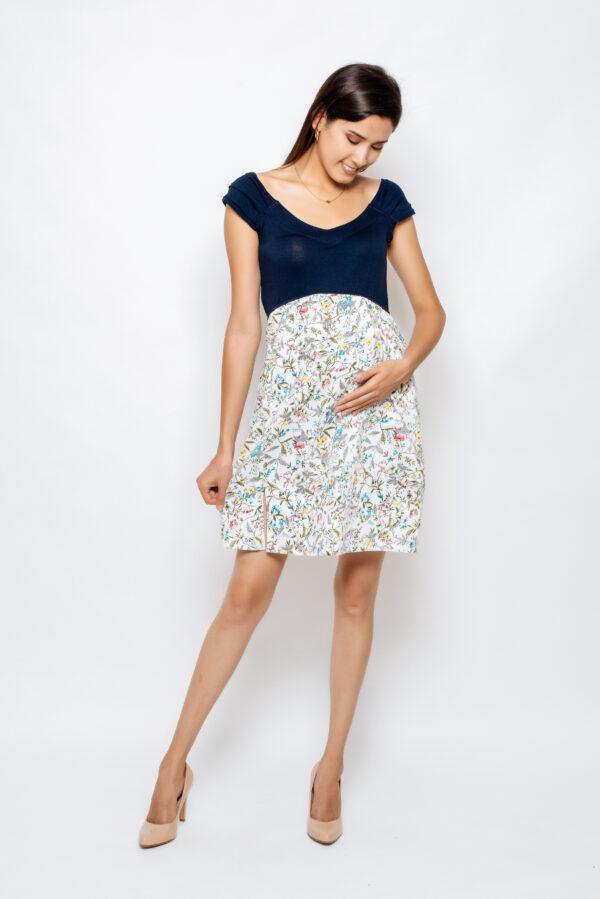 2045-06 vestido materno Lara-satin estamp-visc (2)
