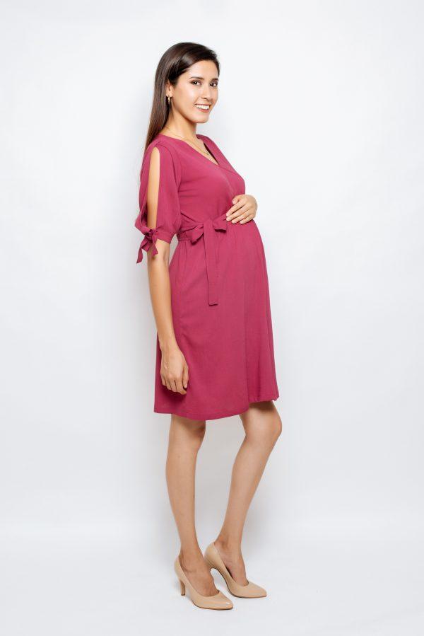 2042-06 vestido materno Khristeen (2)